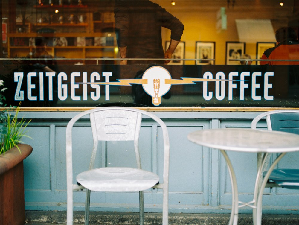 Pioneer Square : Zeitgeist Coffee shop