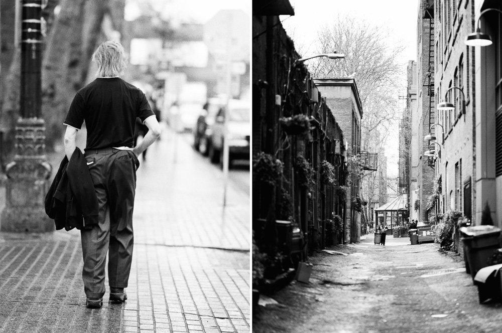 Pioneer Square : back alleys