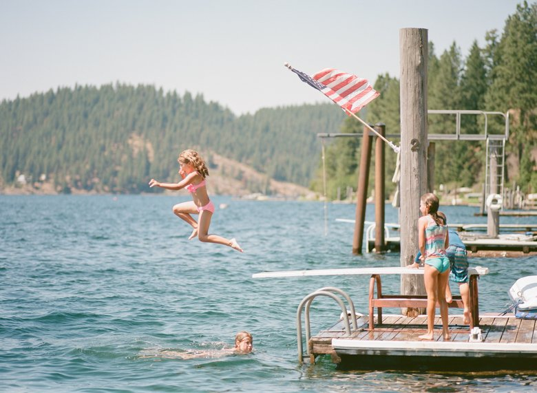 4th of July at Lake Coeur d'Alene, ID