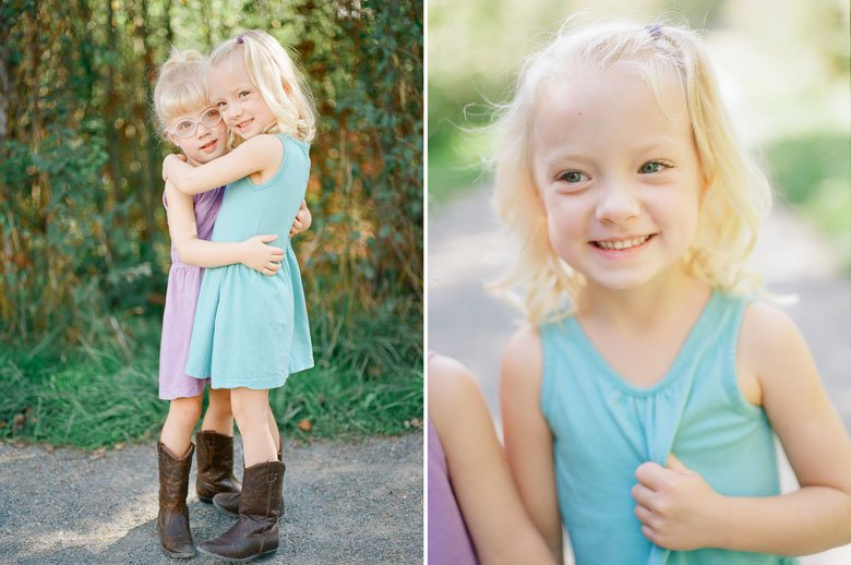 Laurelhurst family photographer : twin_girls_cowboy_boots_photos_web