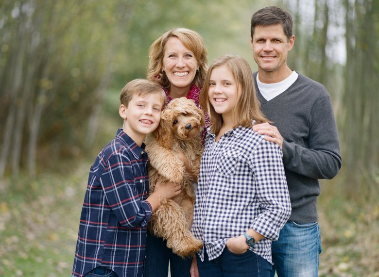 family photography with dogs Seattle