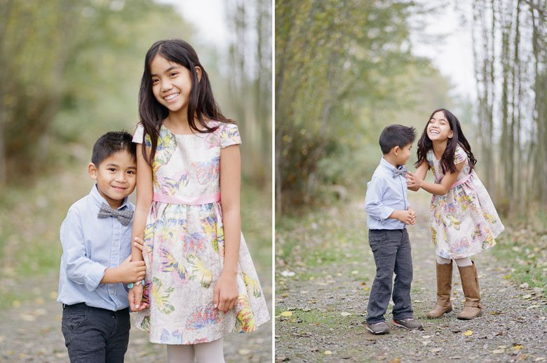 outdoor family photographs Seattle :