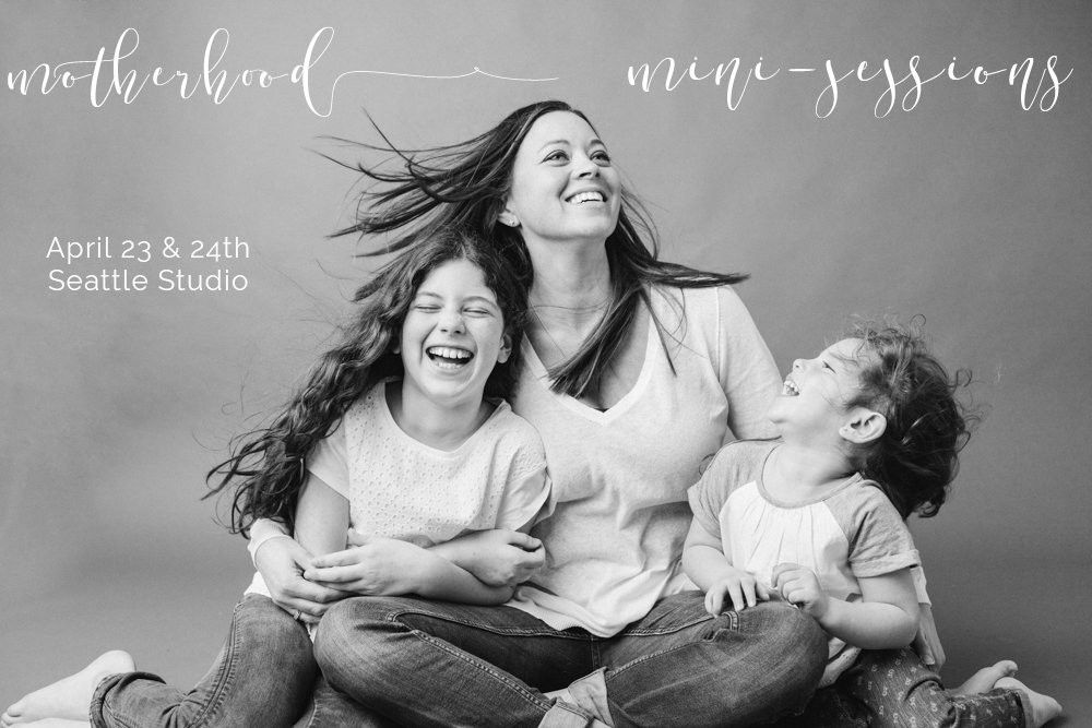 Now Booking Motherhood Mini-Sessions!