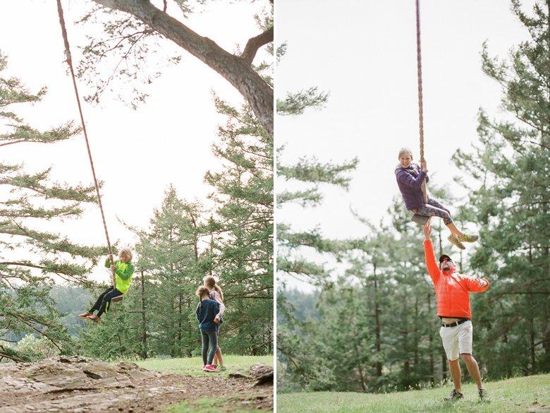 lopez island rope swing