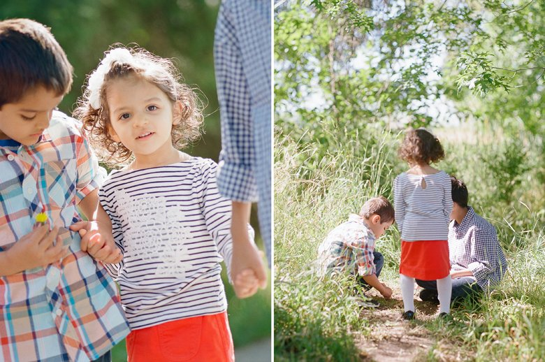 Redmond Family Photography : Family of Five at Juanita Park
