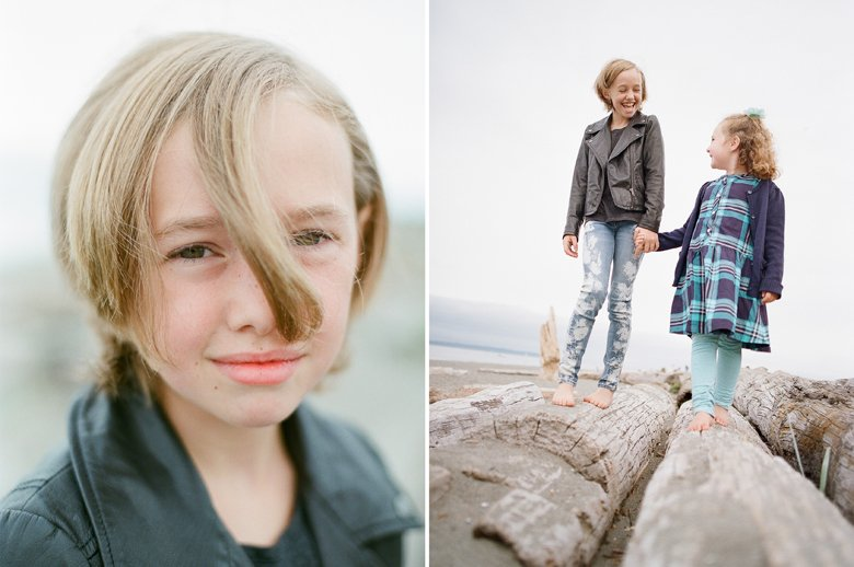 Seattle family photographer Edmonds Beach Park