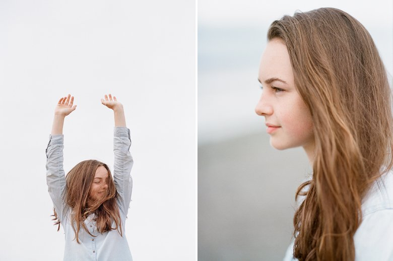 Seattle family photographer Edmonds Beach Park : Senior Photos