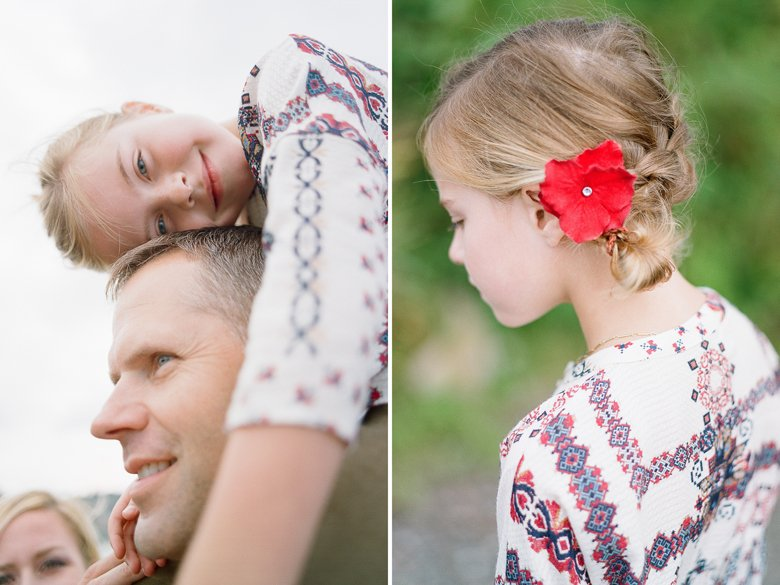 best family photographer seattle | father daughter