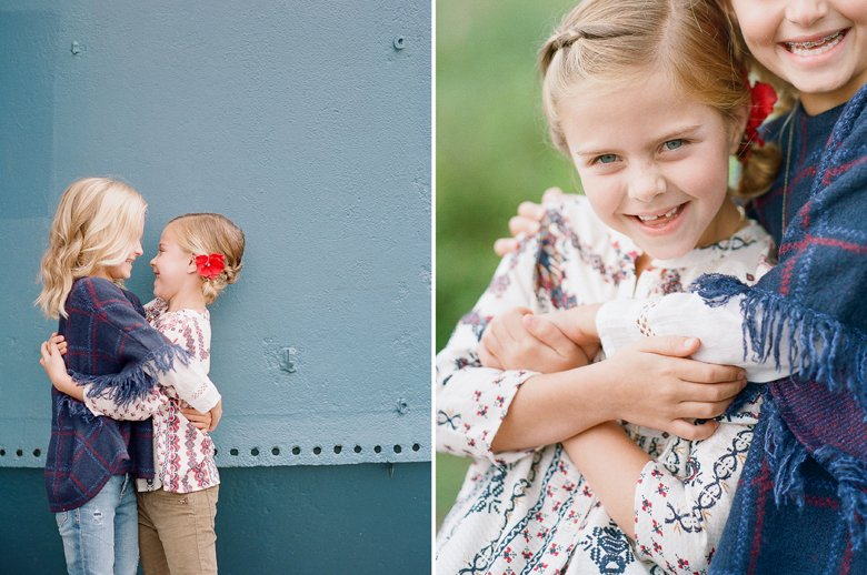 best family photographer seattle | sisters laughing