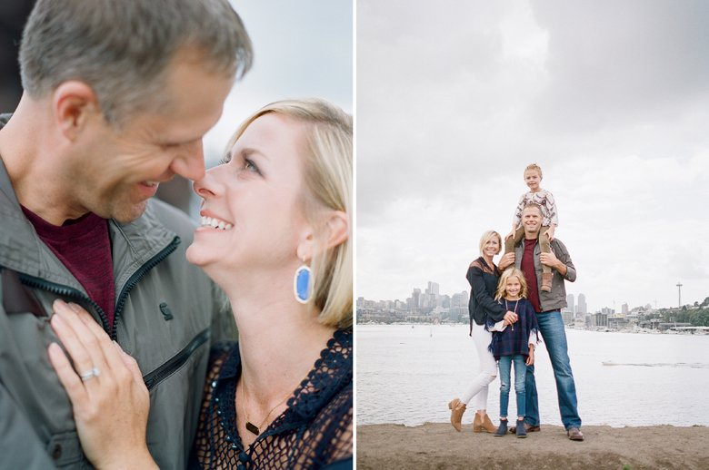 best family photographer seattle | family at Gasworks park