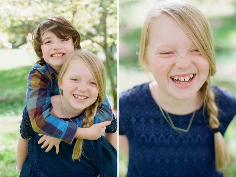 seattle family photographer | kids laughing