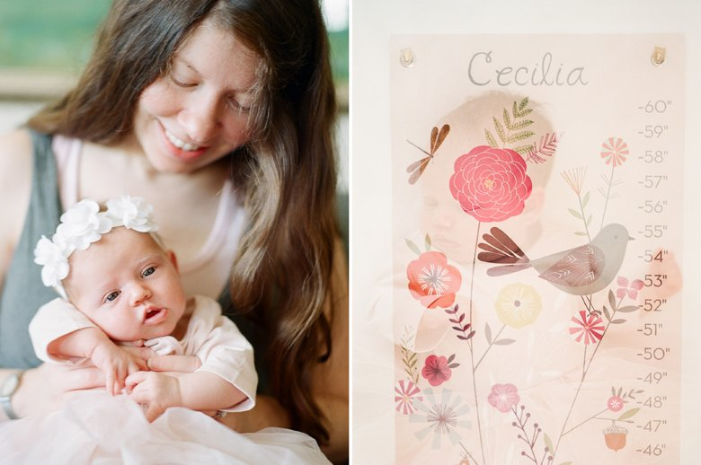 north seattle newborn photography in home session