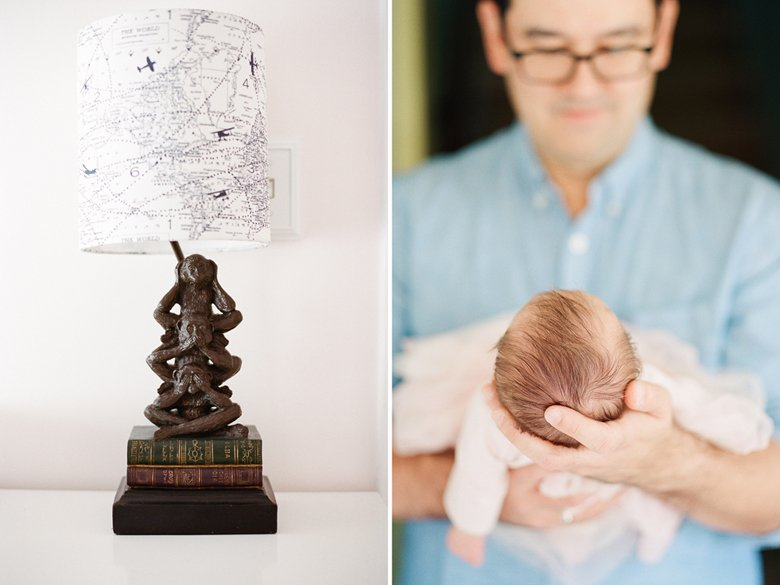 seattle newborn photography in home session