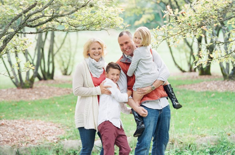 seattle family outdoor photo session