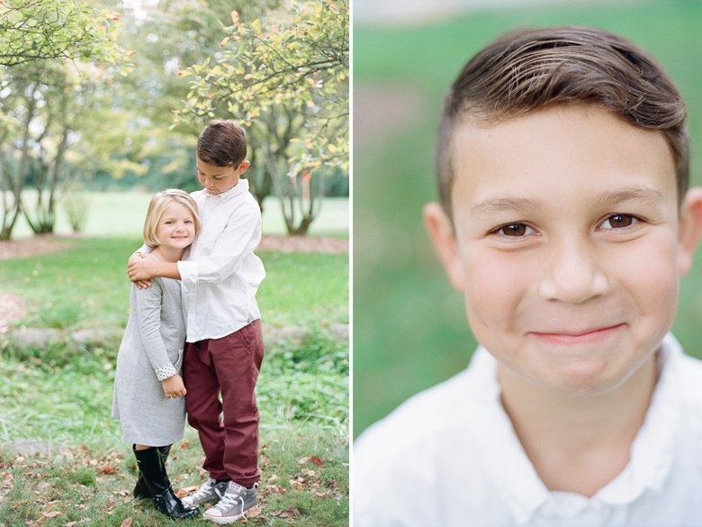 brother sister : seattle family outdoor photo session
