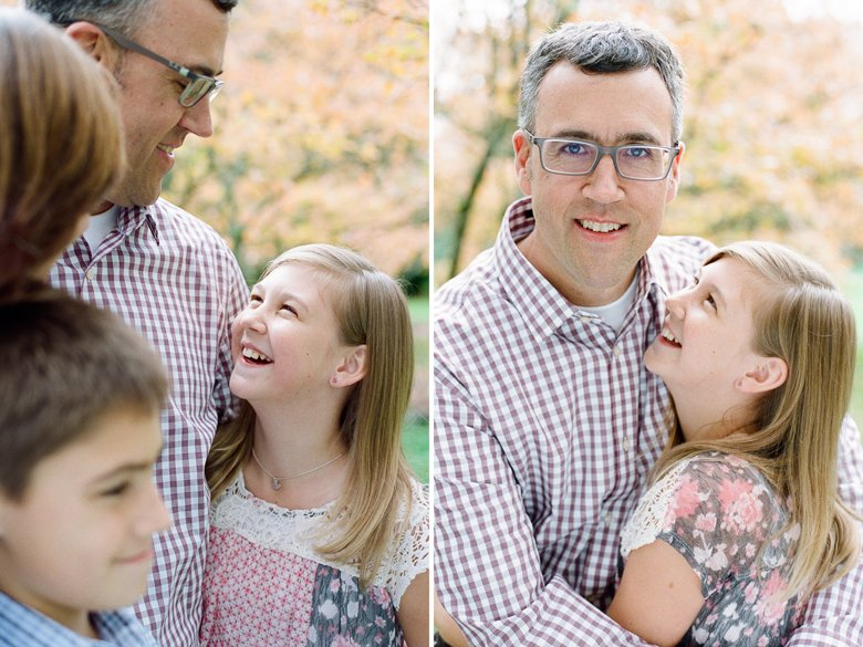 fall family session seattle