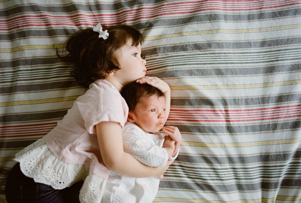 In Home Newborn Session Seattle WA : Kiera