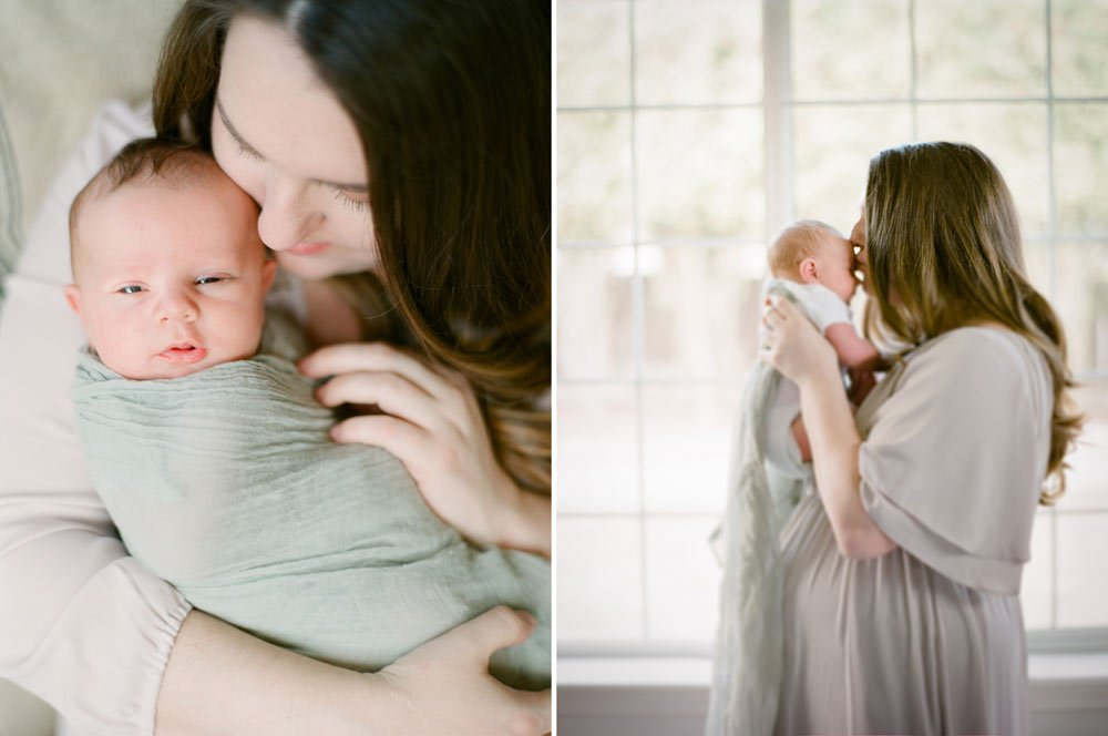 newborn film photographer seattle
