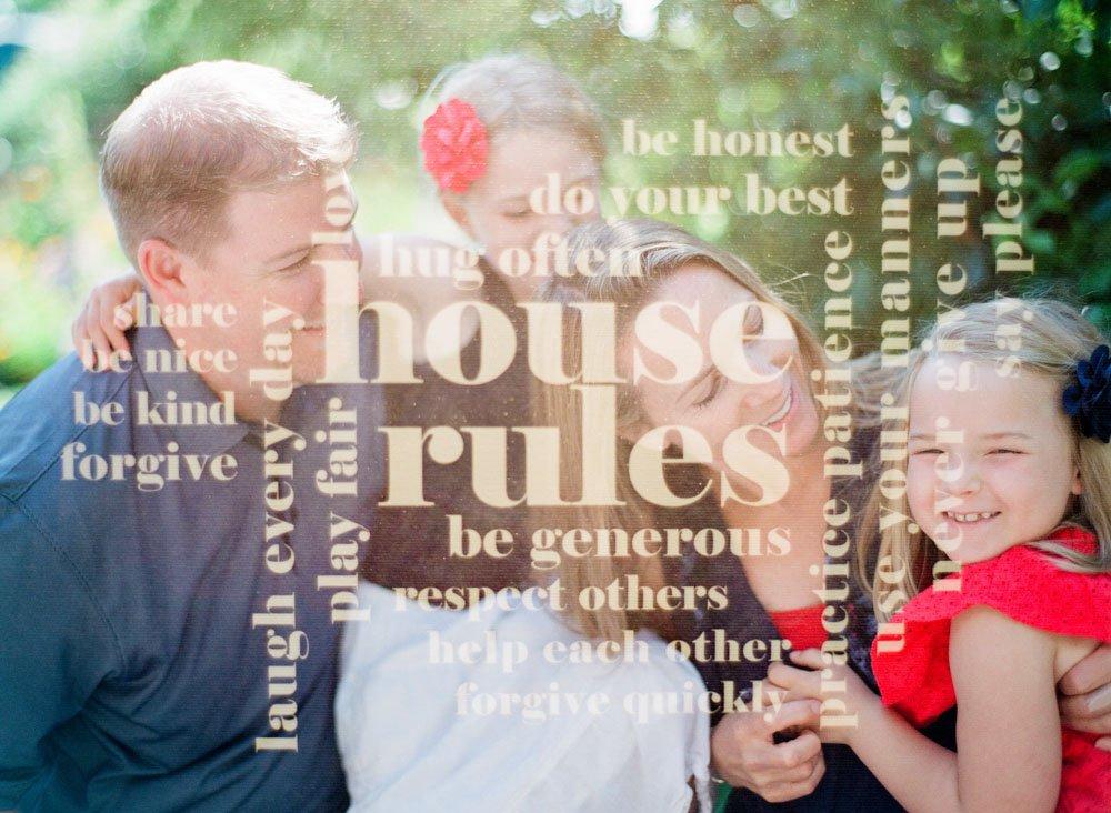 family photographers seattle : family double exposure