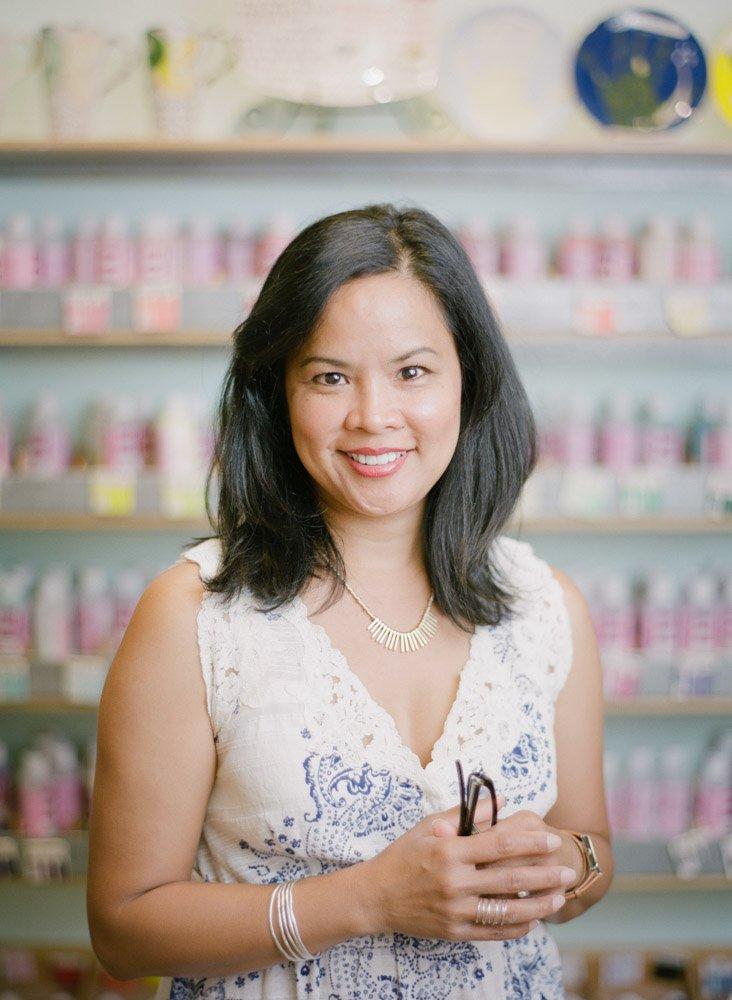 Paint Away business owner Hazel Roos