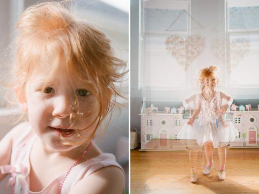 child in-home photography