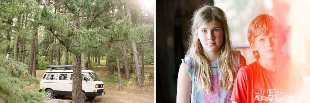 summer cabin family photo sessions idaho