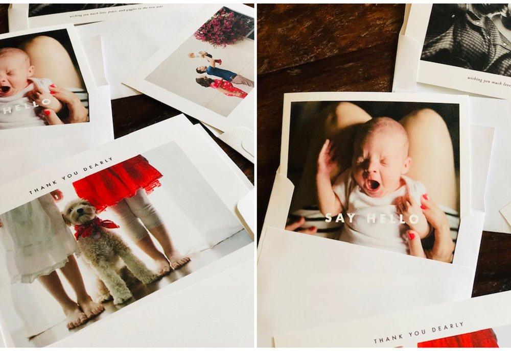 holiday card Kim Hildebrand photography seattle