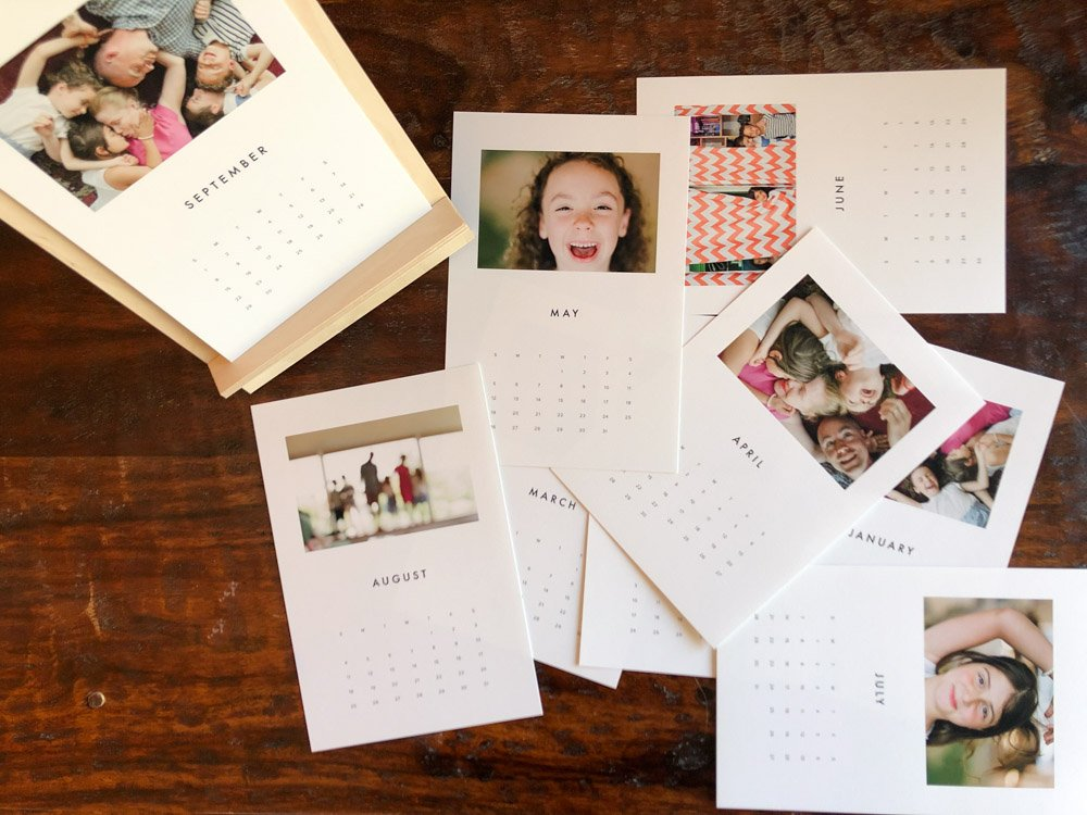new product photo calendar